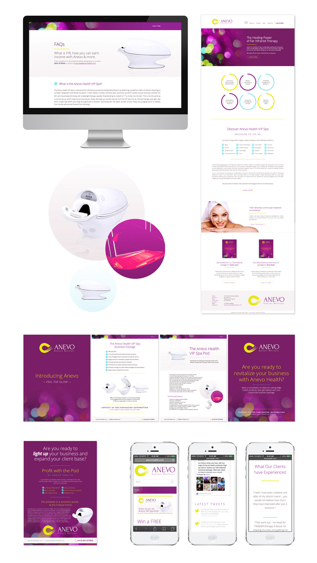 anevo-health-website-design-branding-winnipeg-manitoba-responsive-mobile-optimized-board