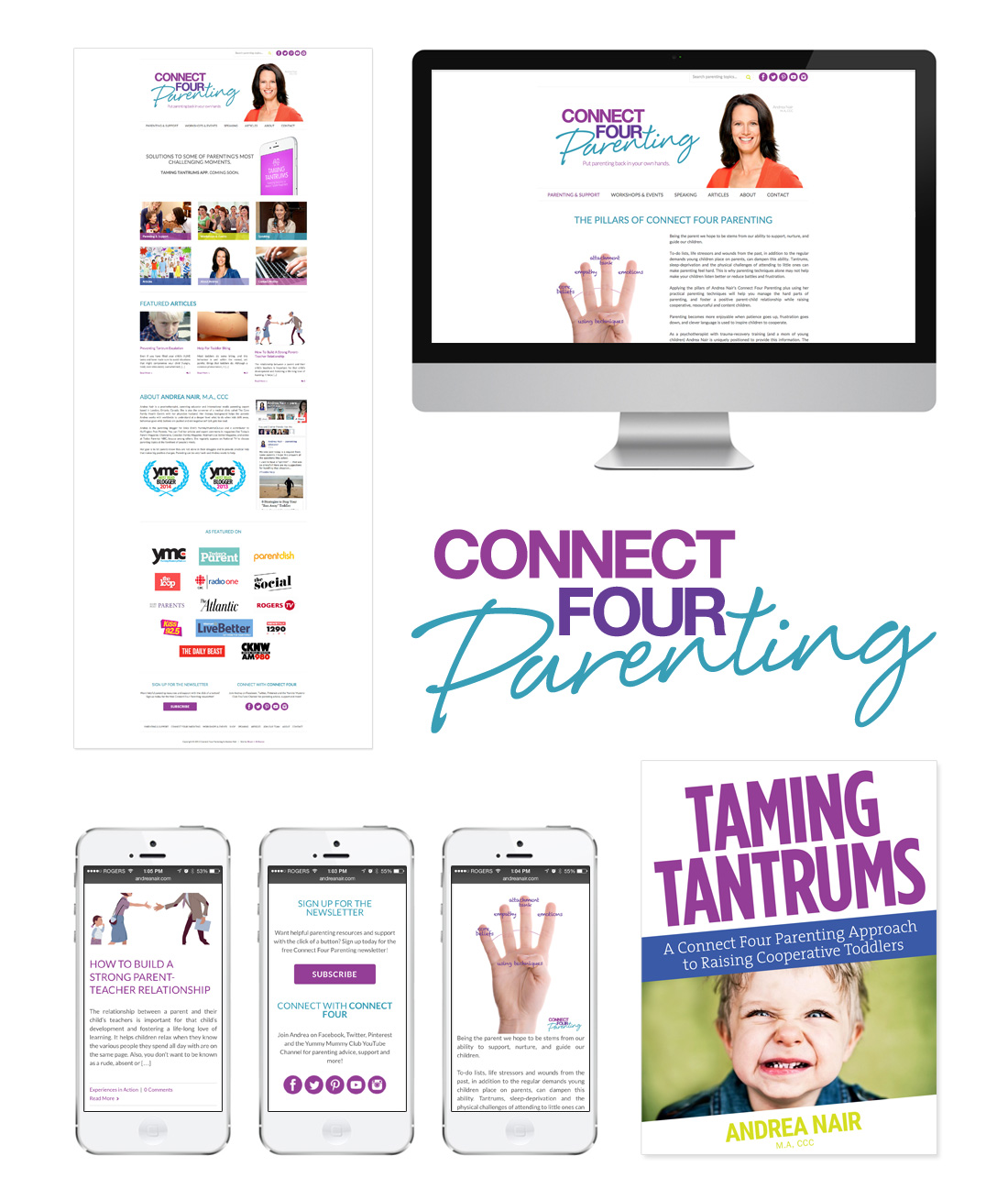 connect-four-parenting-website-design-branding-winnipeg-manitoba-responsive-mobile-optimized-board