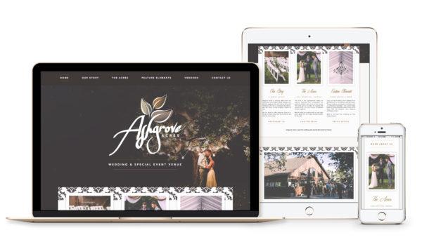 Winnipeg Web Design and Branding, Responsive Website Design for Ashgrove Acres in Winnipeg, Manitoba