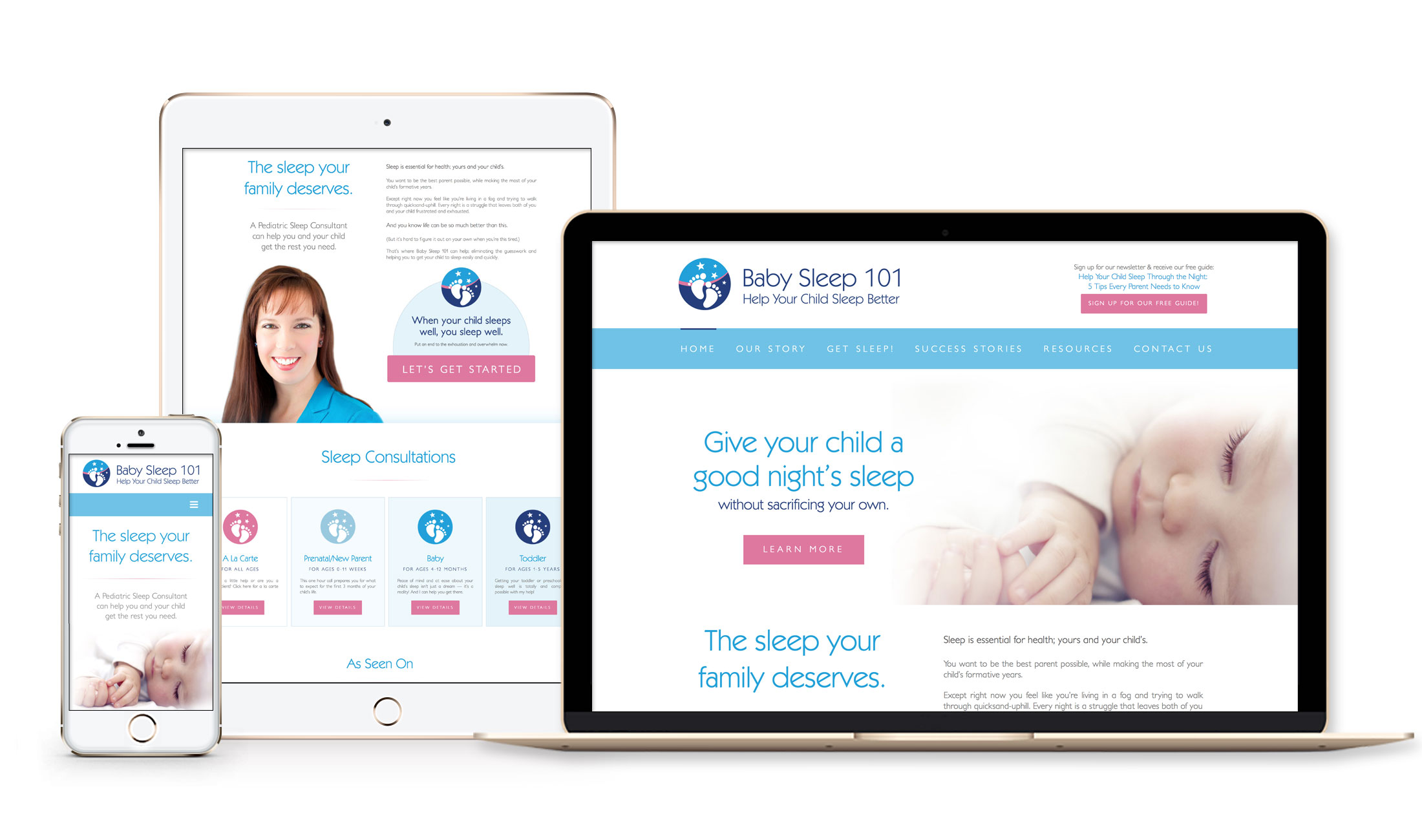 adb176e68 Baby Sleep 101 was created out of a passion to support parents who are  struggling with their baby or toddler sleep issues. They are Manitoba's  only ...