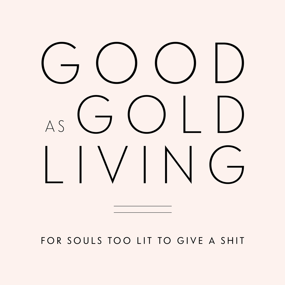 Good As Gold Living Logo
