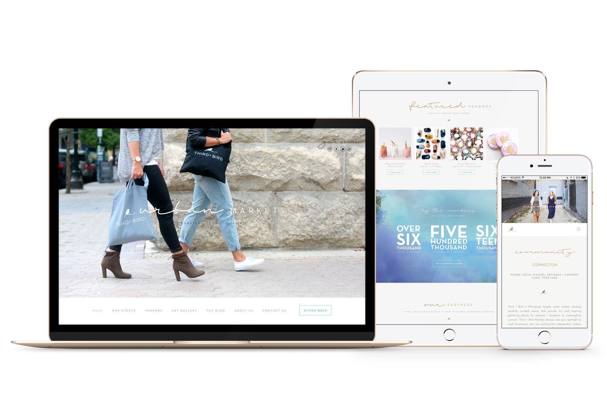 Third and Bird Winnipeg Website Design Branding Responsive