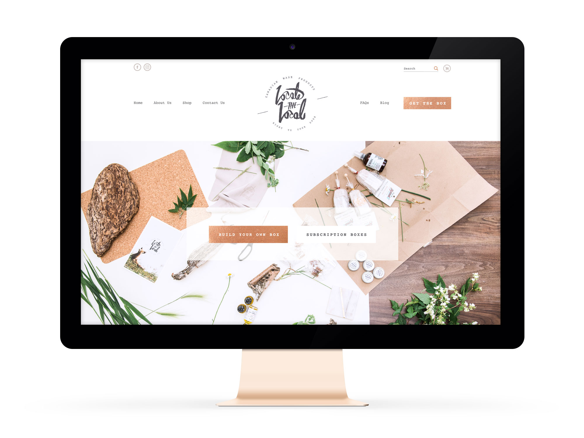 Beautiful Websites for Feminist Entrepreneur Locate the Local