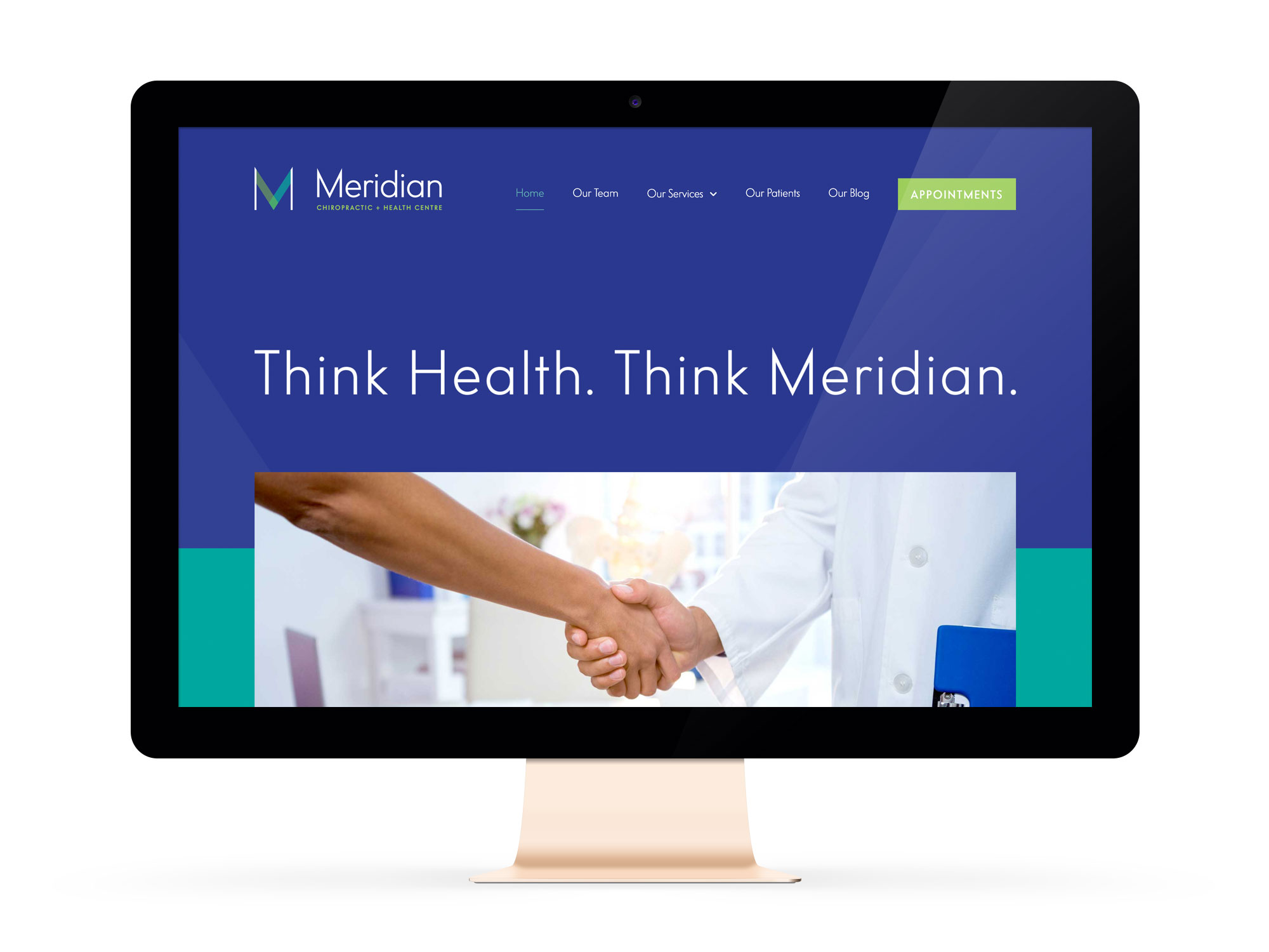 Beautiful Websites for Feminist Entrepreneurs And Chiropractor, Meridian Chiropractic + Health Centre