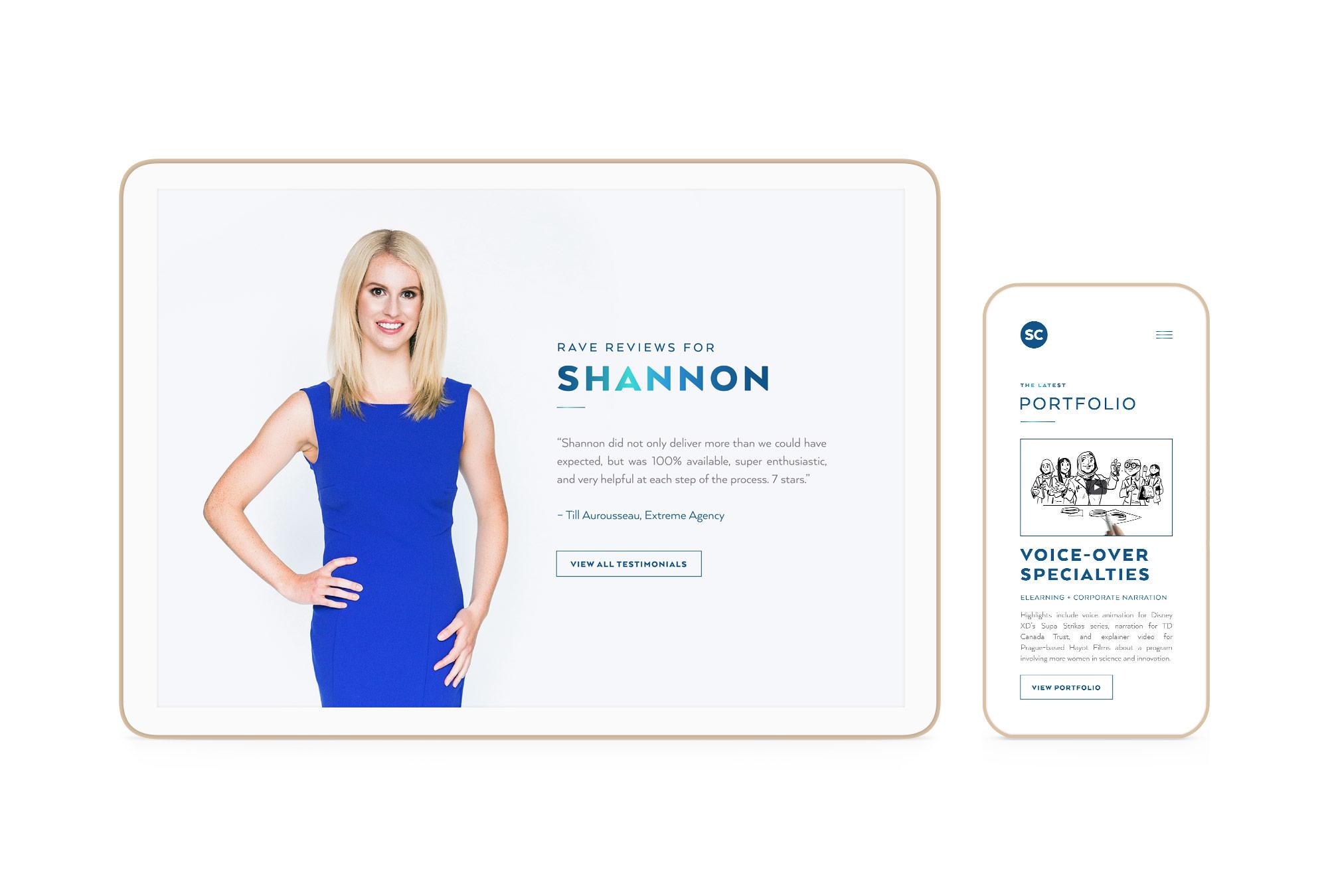 Shannon Coast Winnipeg Feminist Brands Website Design Feminist Entrepreneurs Responsive 1