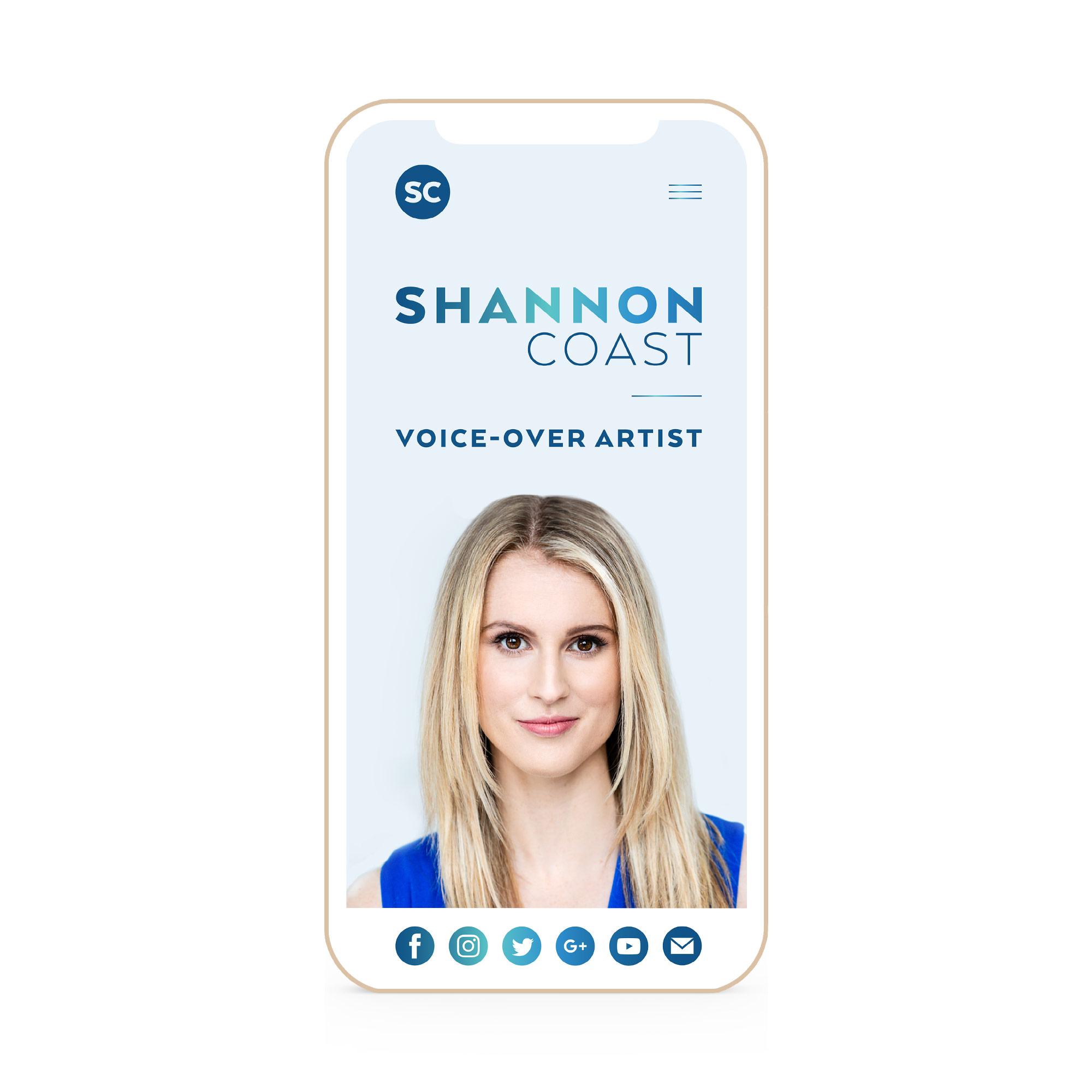 Shannon Coast Winnipeg Feminist Brands Website Design Feminist Entrepreneurs iPhone