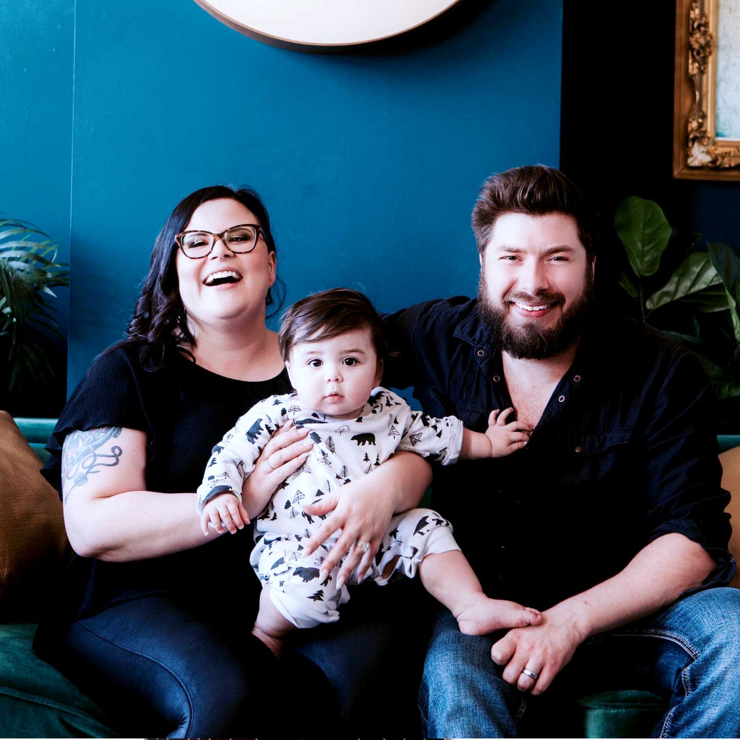 Mixing the personal with the political with business! Feminist brand and web designer Janelle Desrosiers and her husband Nyco are Work at Home parents with their son Jude