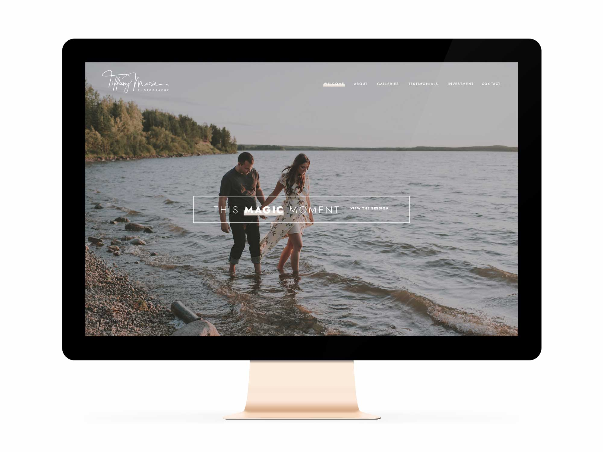 Tiffany Marie Photography Winnipeg Website Design Branding Feature