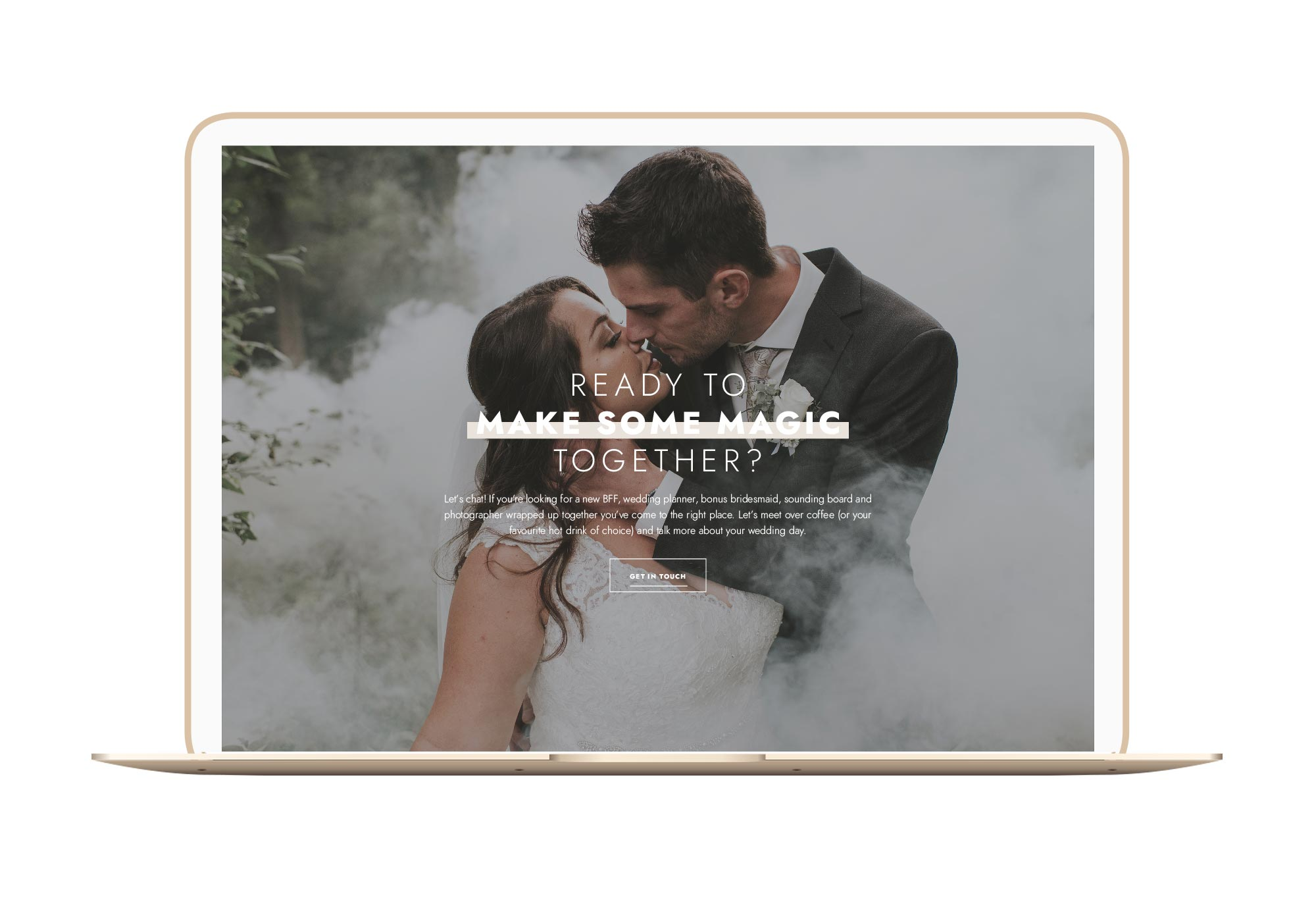 Tiffany Marie Photography Winnipeg Website Design Branding Laptop Flat
