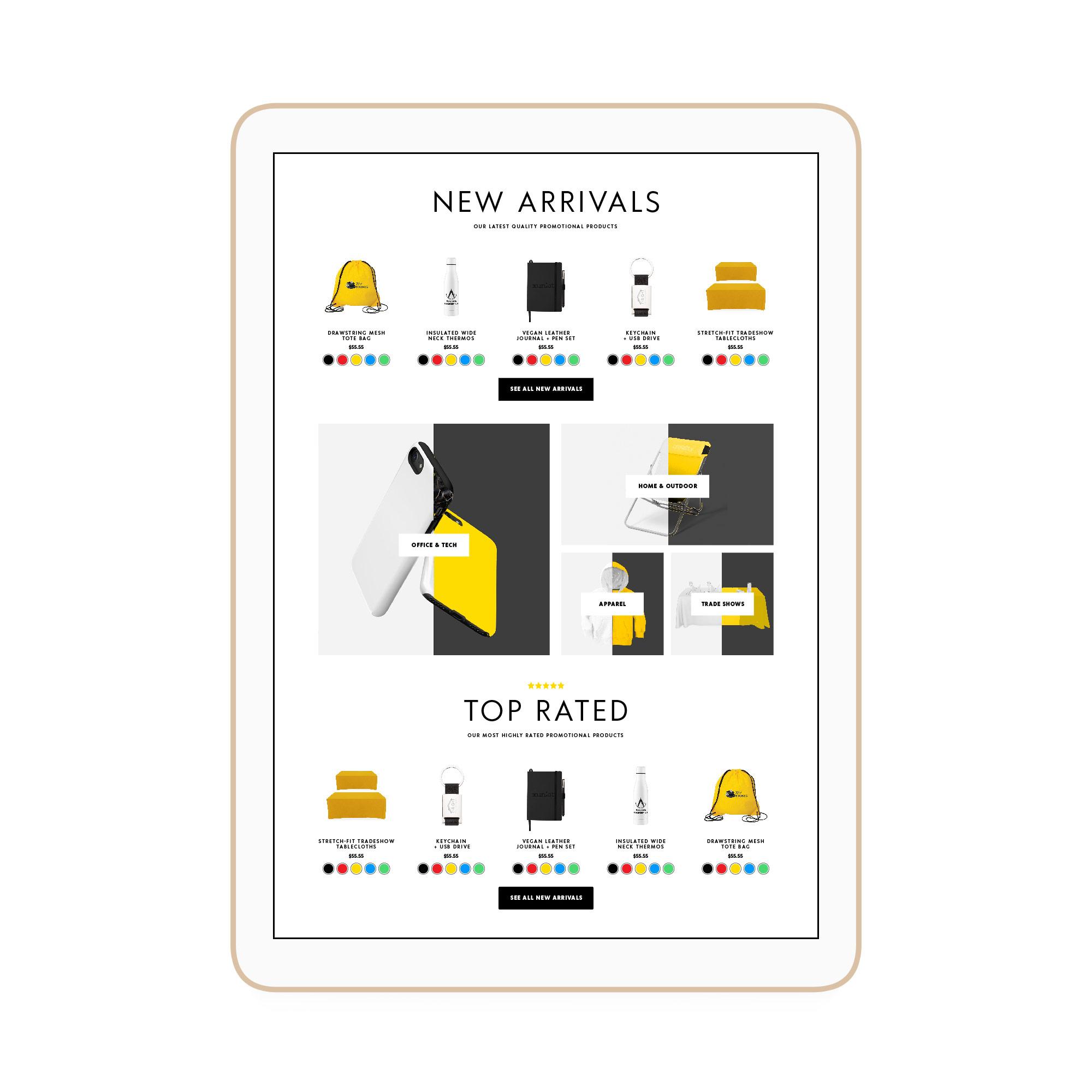 Dreamcatcher Winnipeg Feminist Brands Website Design Feminist Entrepreneurs iPad