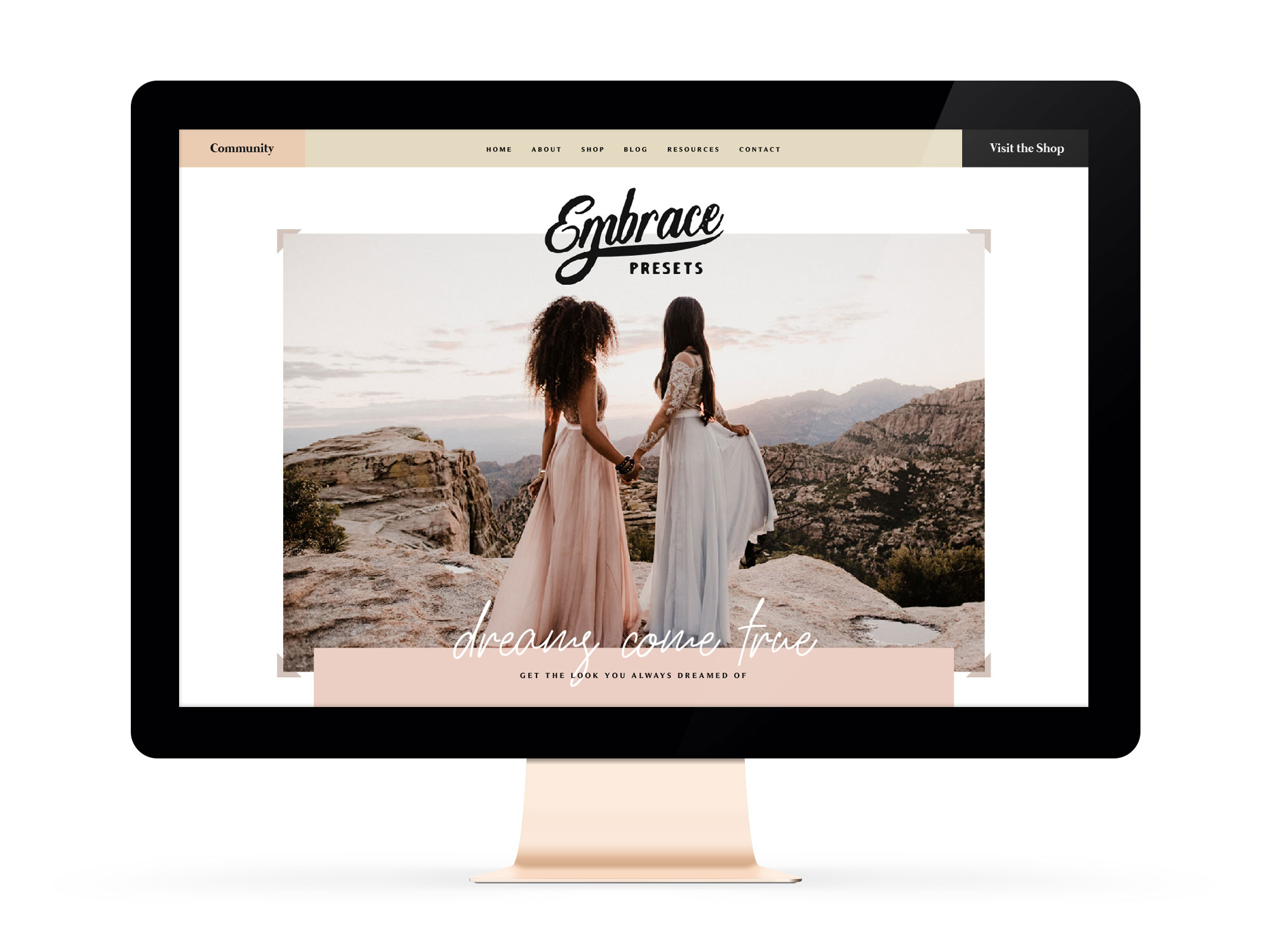 Embrace Nation Winnipeg Feminist Brands Website Design Feminist Entrepreneurs Feature