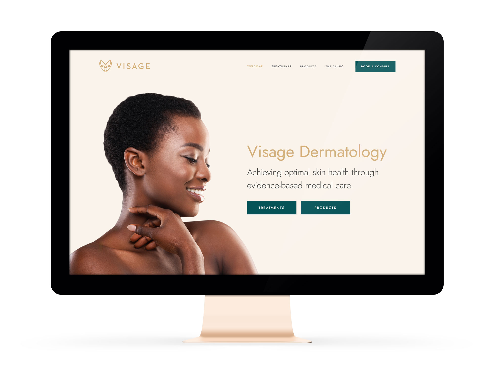 Visage Dermatology Winnipeg Feminist Brands Website Design Feminist Entrepreneurs Feature