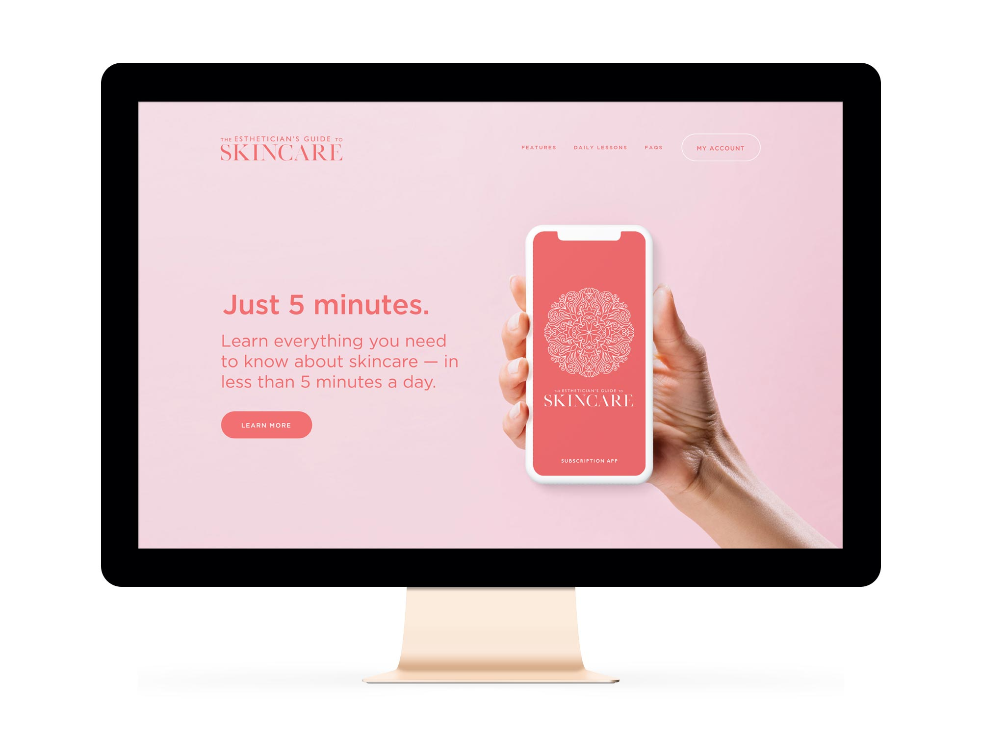 The Estheticians Guide to Skincare Winnipeg Feminist Brands Website Design Feminist Entrepreneurs Feature